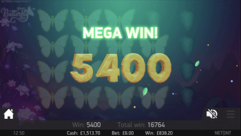 Butterflies - Great Winner! (Submitted by Spikey12345)