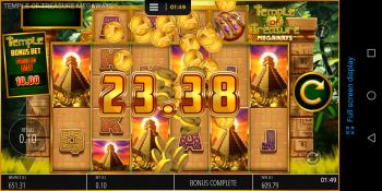 Temple of Treasures - Nice Win! (Submitted by Nathanmexas45)