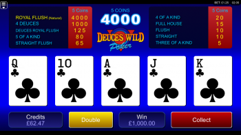 Video Poker - Royal Flush! (Submitted by Rbreen91)