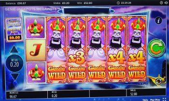 Genie Jackpots - Biggus Winnus! (Submitted by Andys8055)