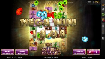 White Rabbit - Crazy Win! (Submitted by Sam147)