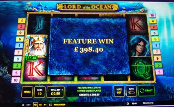 Lord of the Ocean - Nice Win! (Submitted by Blackoutuk)