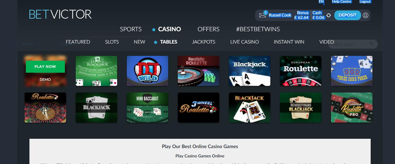 Real money online gambling casino